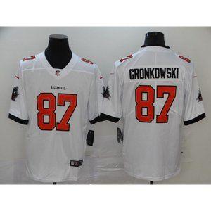 Rob Gronkowski White Jersey